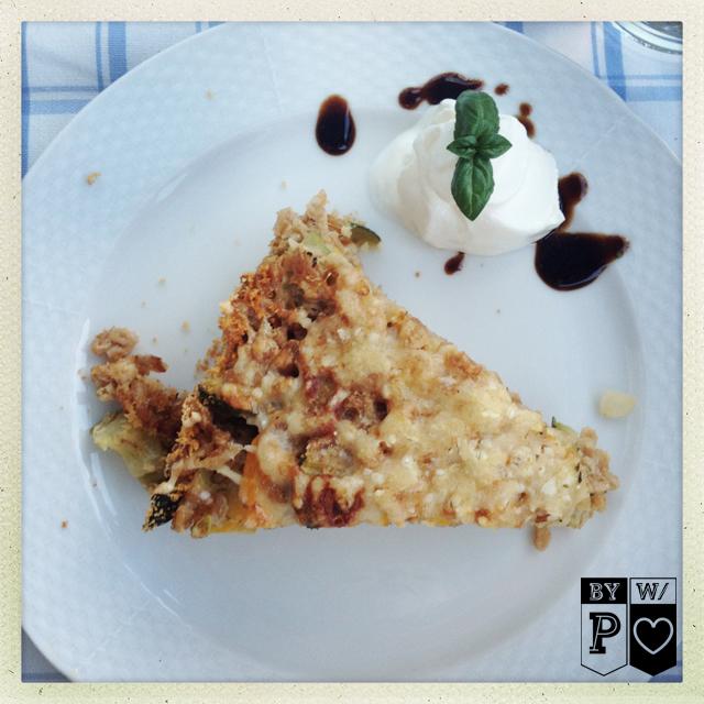 Pikanter Zucchini-Reis-Kuchen
