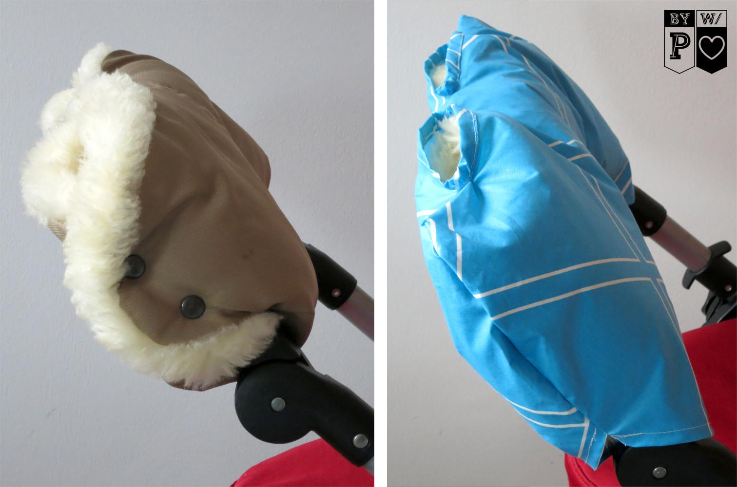 Regenschutz für Kinderwagen-Muff