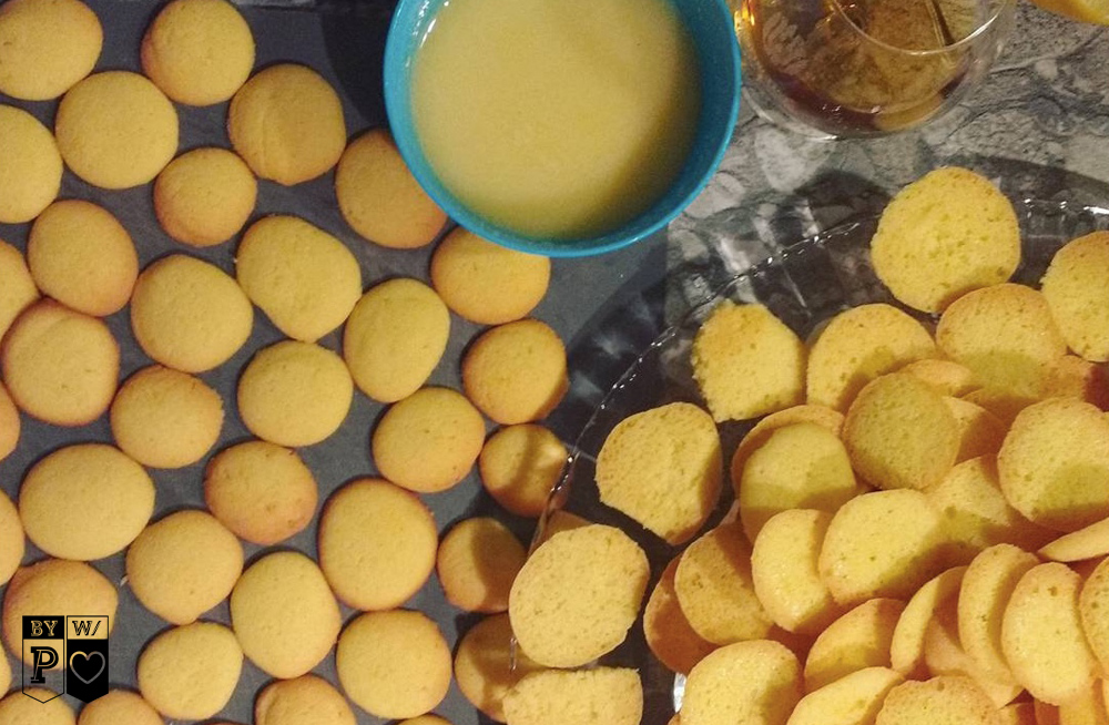 Kekse mit Safran