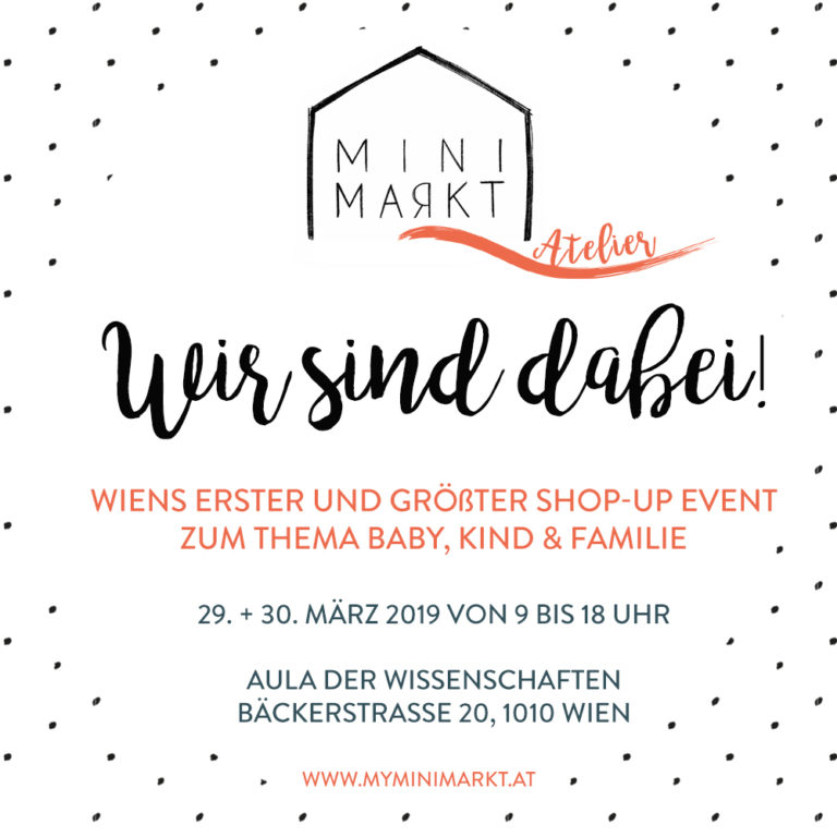 MiniMarkt Vienna #8 – 29. + 30.3.2019