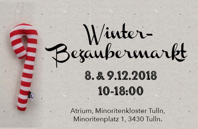 Winter Bezaubermarkt im Tullner Atrium 8. & 9.12.